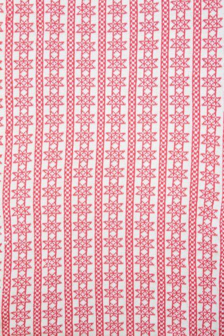 NORWICH - star design on reverse of baby blanket