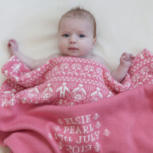 Personalised Baby Blanket - People & Trees
