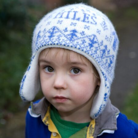 Personalised People Knitted Hat