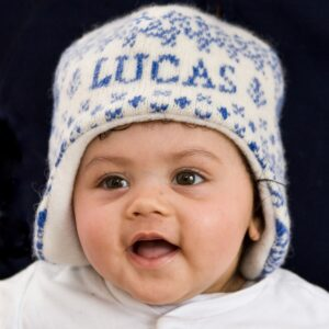 Baby modelling Knitted Personalised Animals Hat