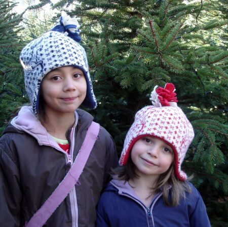 Reindeer Hats - warm and cosy!