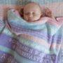 sandringham Personalised Cashmere Baby Blanket