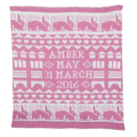 Richmond Cashmere Comforter in Dusky Pink