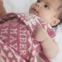 Richmond Comforter in Dusky Pink