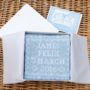 personalised cashmere baby comforter