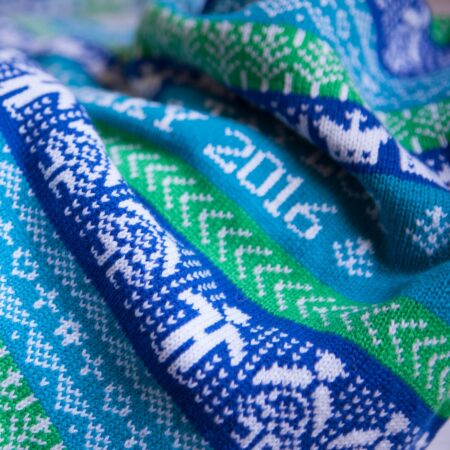 cashmere blanket detail