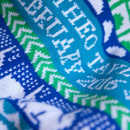 Hampton Blanket detail