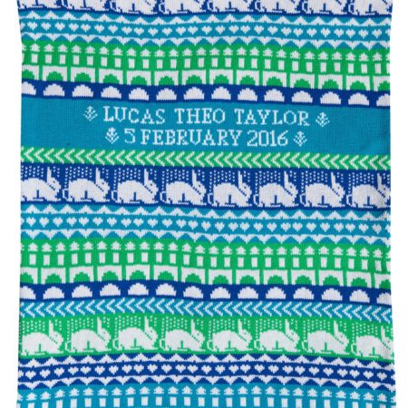 Hampton Cashmere Baby Blanket