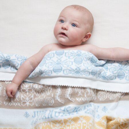 Creepy Crawlies Personalised Baby Blanket