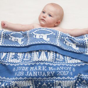 Playtime Baby Blanket in Holkham