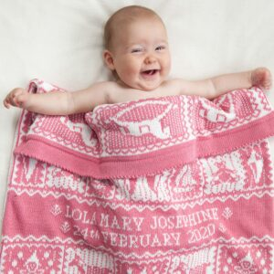 Playtime Personalised Baby Blanket in Blickling