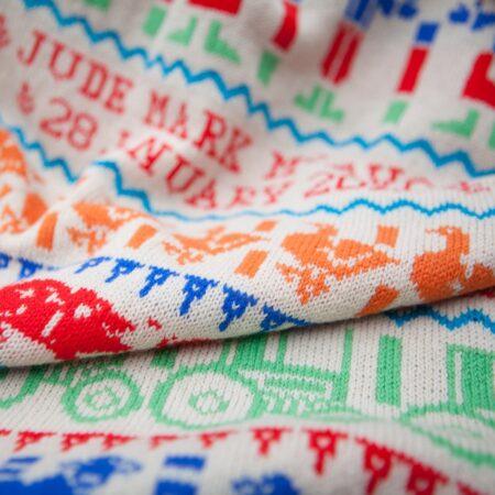 Farmyard Baby Blanket