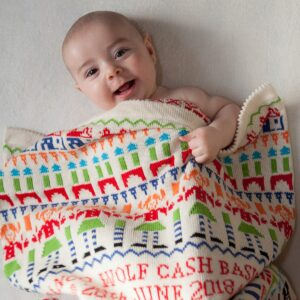 Toybox Personalised Baby Blanket