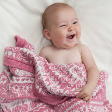 Hampton Personalised Cashmere Baby Blanket