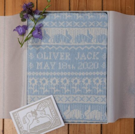 Balmoral Cashmere Baby Blanket in Gift Box