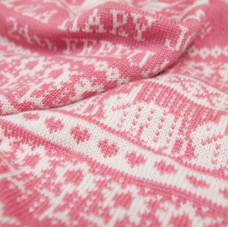 Hampton Cashmere Baby Blanket close up