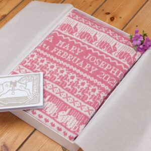 Hampton Cashmere Baby Blanket in Gift Box
