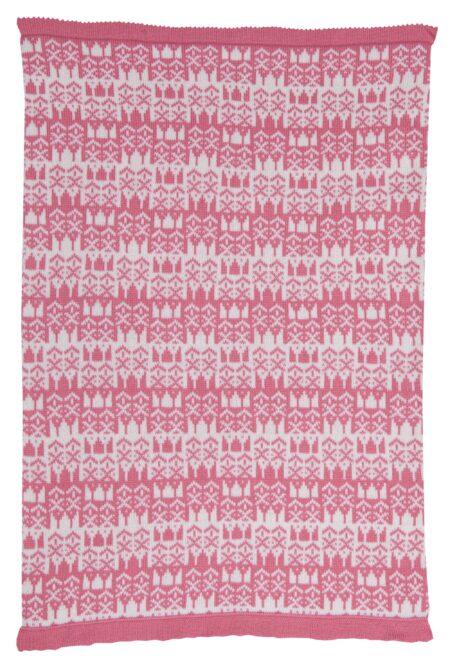 Hampton Cashmere Baby Blanket reverse
